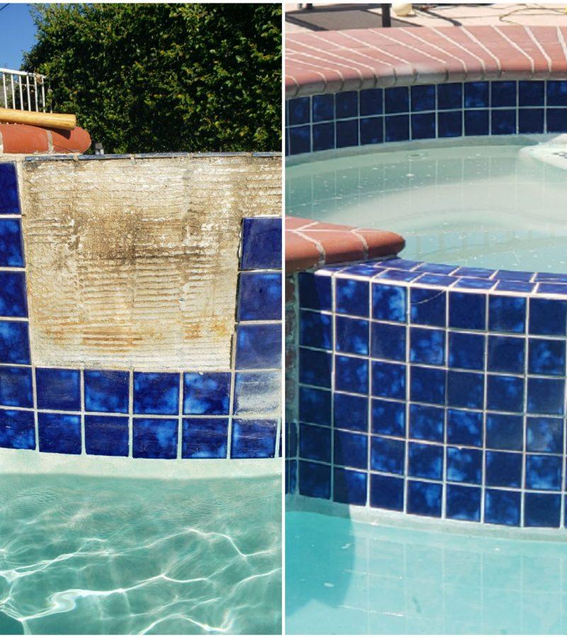 pool tile repair and cleaning